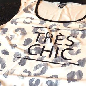 TORRID TRES CHIC TOP